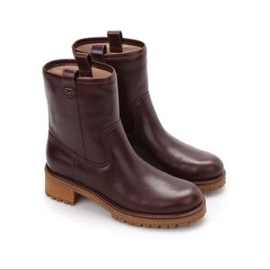 Tory Burch Foster Boots Brown